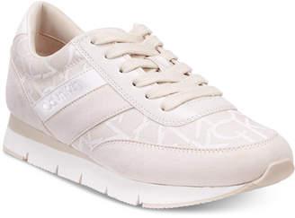 Calvin Klein Women's Tea Logo Sneakers Women's Shoes