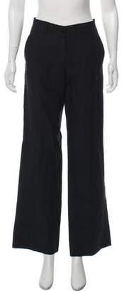 Giorgio Armani Linen Wide-Leg Pants
