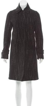 CNC Costume National Bouclé Collared Coat