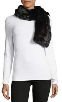 Saks Fifth Avenue Pull-Through Faux Fur Scarf