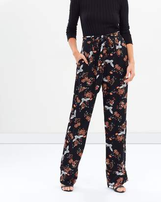 Atmos & Here ICONIC EXCLUSIVE - Zaire Wide Leg Pants