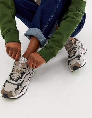 adidas grey Temper Run trainers