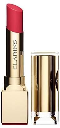 Clarins Rouge Eclat Satin Finish Age Defying Lipstick - # 23 Hot Rose