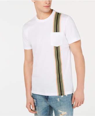 American Rag Men Racing-Stripe Pocket T-Shirt