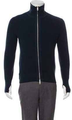 Rag & Bone Merino Wool Blend ZIp-Up Sweater