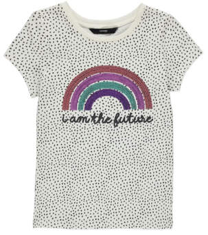 George Sequinned Rainbow T-Shirt