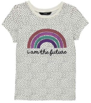 George Sequinned Rainbow T-Shirt
