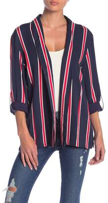 MinkPink Nautica Stripe Blazer