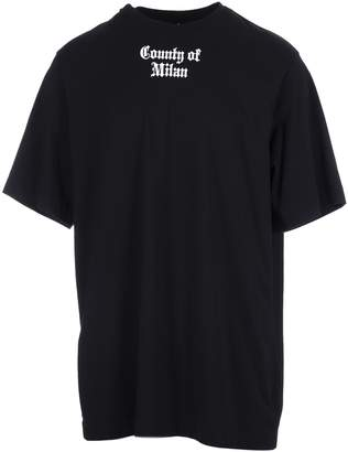 Marcelo Burlon County of Milan Logo Patch T-shirt