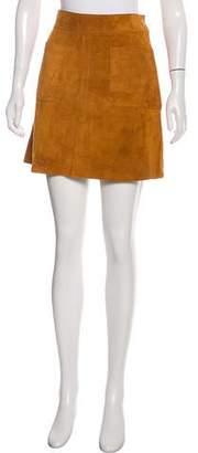 Frame Suede Mini Skirt