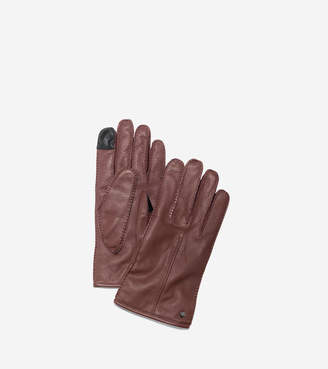 Cole Haan Men's Handsewn Deerskin Leather Gloves