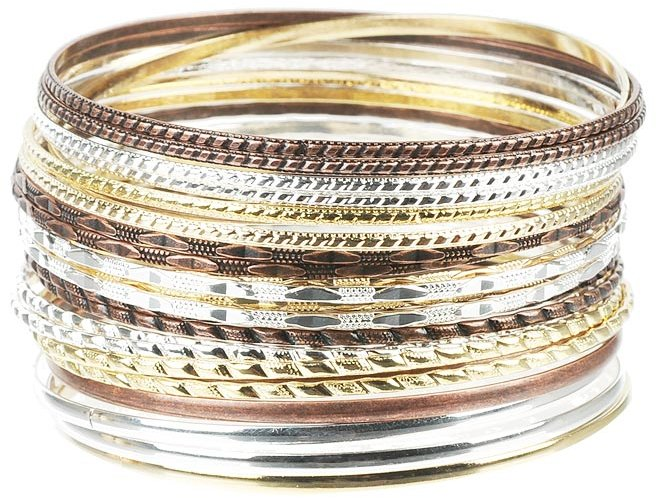 Melanie Thin Bangle Set