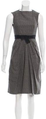 Max Mara Weekend Sleeveless Printed Dress