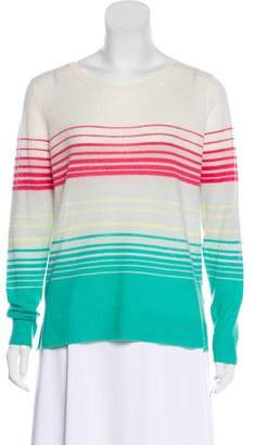 Joie Striped Cashmere Sweater