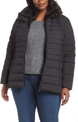 Bernardo Micro Touch Quilted Jacket