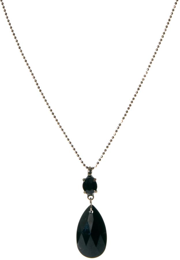 Swarovski Krystal Pear Crystal Drop Necklace