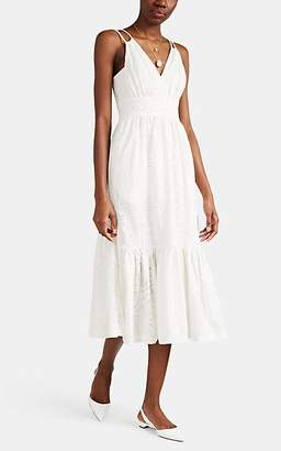 Prabal Gurung Women's Cotton Eyelet Sundress - White