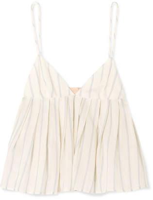 833ec39b2fbaf Brock Collection Ombrello Striped Cotton Camisole