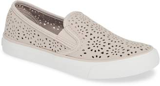 Sperry Seaside Nautical Perforated Slip-On Sneaker