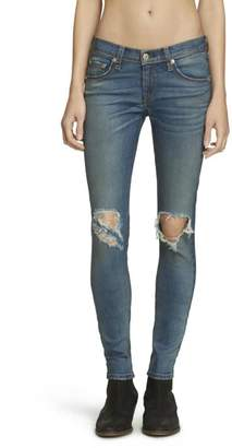 Rag & Bone Distressed Carmine Skinny