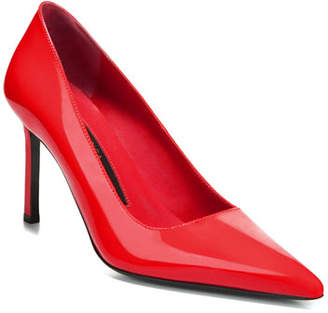 Via Spiga Nikole Patent Leather Point-Toe Pumps