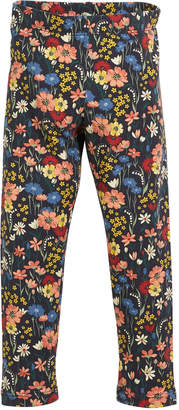 Mayoral Floral-Print Leggings, Size 3-7