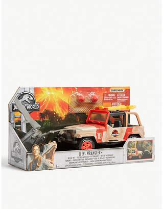Wrangler JURASSIC WORLD Jeep Rescue Net playset