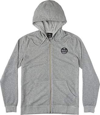 RVCA Men's Machine Sun Wash Zip Hooded Sweatshirt