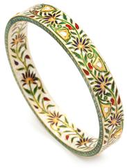 Amrita SinghKhalil Floral Enamel Bangle