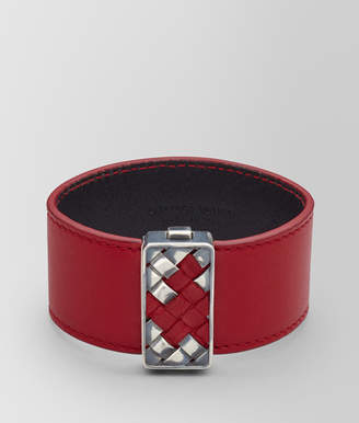 Bottega Veneta China Red Copper Bracelet S China red Pu15SQAIUq