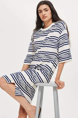 Topshop Striped Jersey Dress by Native Youth