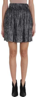 Isabel Marant High-waisted Metallic-effect Skirt