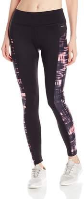 Jockey Women's Motion Plaid Fleece Ankle Legging