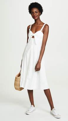 Splendid Dahlia Linen Dress