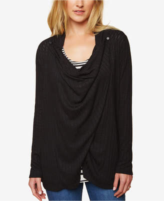 Motherhood Maternity Draped Nursing Top