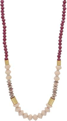 "3.1 Phillip Lim Bits Multi-Color 30"" Dipped Ribbon Necklace"