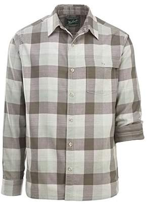 Woolrich Men's Weekend Eco Rich Double Weave Modern Fit Shirt