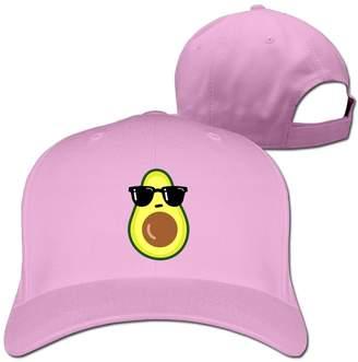 Jessica Unisex Adjustable Baseball Cap Sandwich Peak Cool Avocado Snapback  Sport Hat 482d1cd56749
