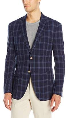 Franklin Tailored Men's Modern Windowpane Check Newton Sport Coat