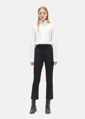 R 13 Skinny Kick Flare Trouser Black