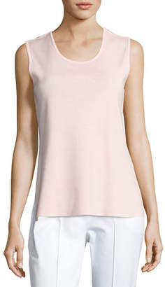Misook Scoop-Neck Tank Top, Pink