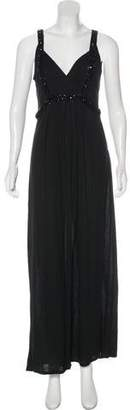 Magaschoni Sleeveless Maxi Dress