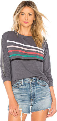 Sundry Chenille Stripes Pullover