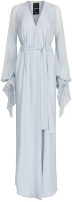 Roland Mouret Swanson Tie Waist Gown