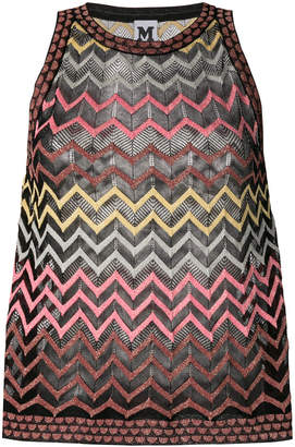 M Missoni chevron print tank top