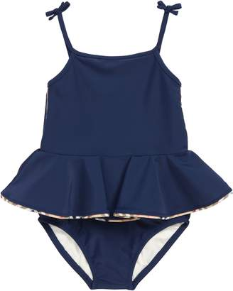 Burberry Ludine Skirted One-Piece Swimsuit