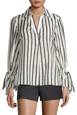 Alice + Olivia Geraldine Striped Tunic