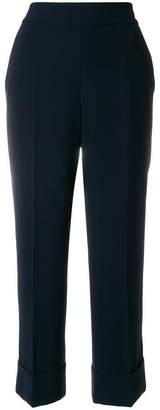 Peserico flared cropped trousers