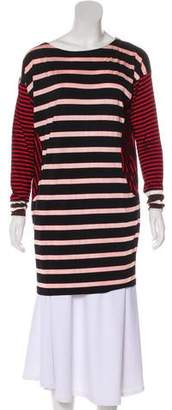 Antipodium Stripe Long Sleeve Top
