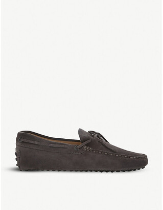 Tod's Tods 122 suede driving shoes